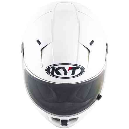 Helmet Thunderflash Plain White KYT