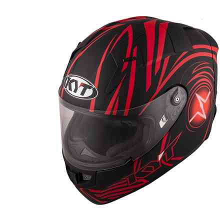 Helmet Thunderflash Spark Red KYT