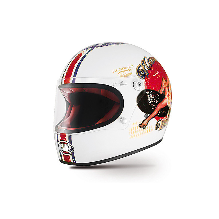 Helmet Trophy Pin Up 8BM Premier