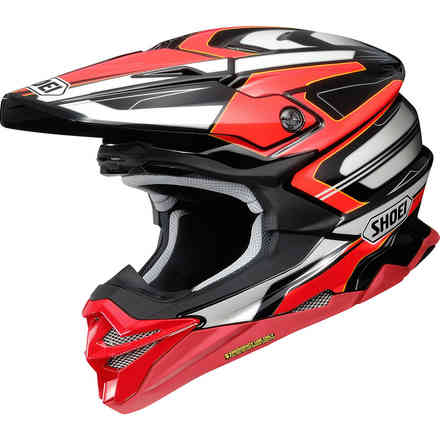 Helmet Vfx-Wr Brayton Red Shoei