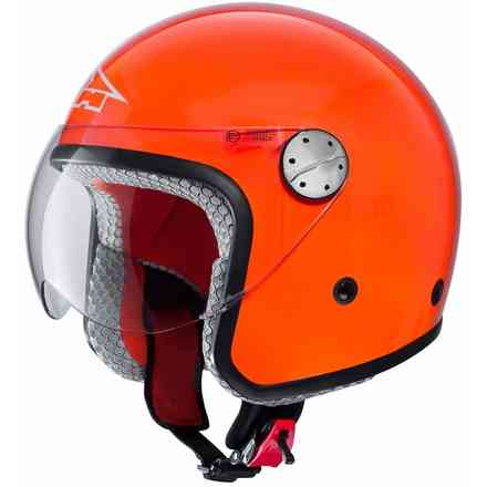 Helmet Woody Jr Orange Axo