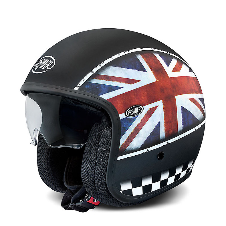 Helmets Vintage Multi Flag UK BM Premier