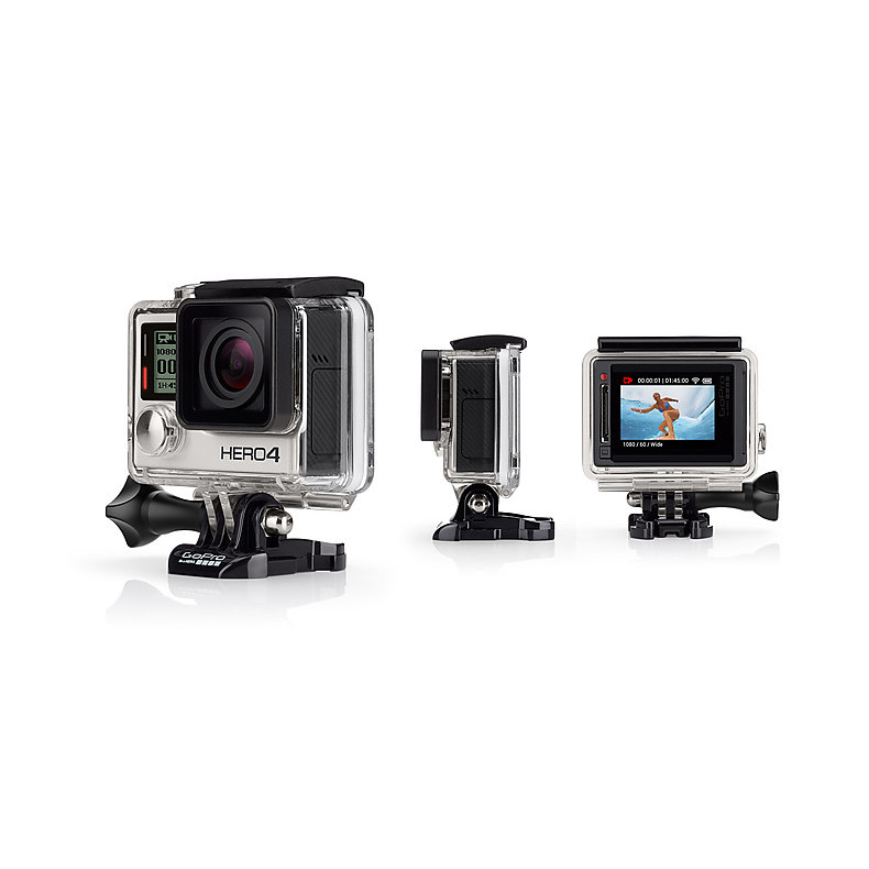 HERO 4 silver Adventure Edition - professional video camera GoPro