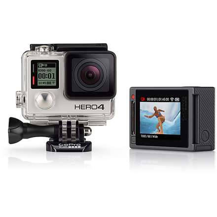 HERO 4 silver Adventure Edition - video camera professionale GoPro