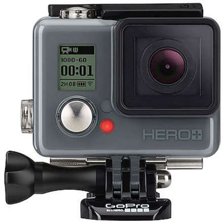 Hero+, 8 Mpx Full HD, WiFi, Bluetooth,  imperméable 40 mt GoPro