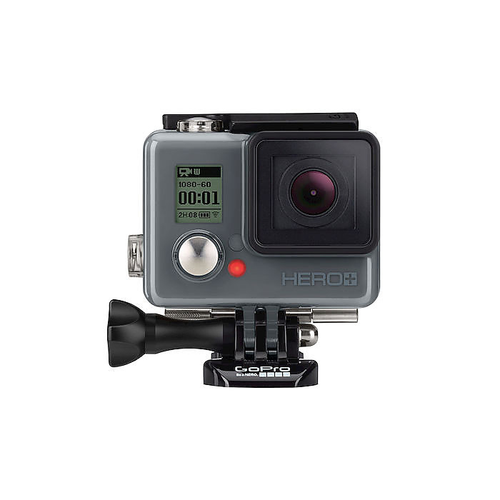 Hero+, 8 Mpx Full HD, WiFi, Bluetooth, waterproof 40 mt GoPro