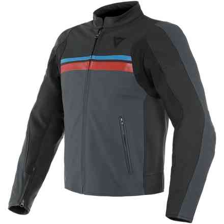 Hf 3 jacket black ebony red blue Dainese
