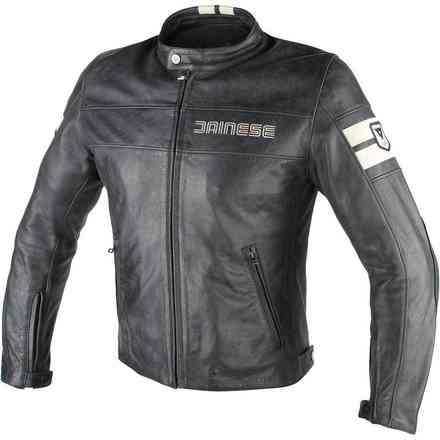 Hf D1 leather jacket  Dainese