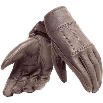 Hi-Jack gloves dark brown Dainese