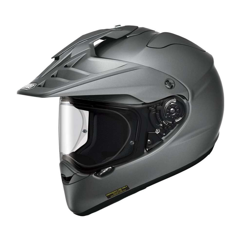 Hornet-Adv Candy grey matt Helmet Shoei