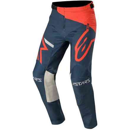 Hose Cross Racer Tech Compass Hellrot Navy Alpinestars