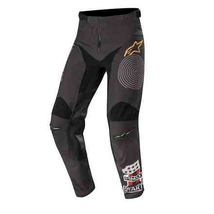 Hose Cross Racer Tech Flagship Schwarz Dunklegrau Alpinestars
