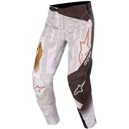 Hose Cross Techstar Factory Grau Schwarz Alpinestars