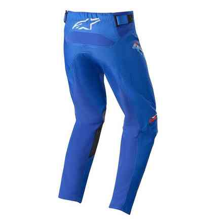 Hose Cross Youth Racer Braap Blau Weiss Alpinestars