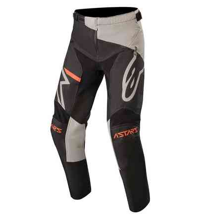 Hose Cross Youth Racer Compass Hellgrau Schwarz Alpinestars