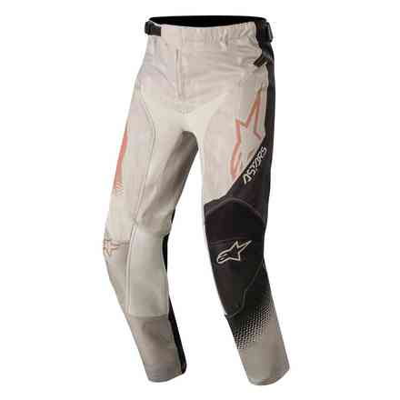 Hose Cross Youth Racer Factory Grau Schwarz Alpinestars