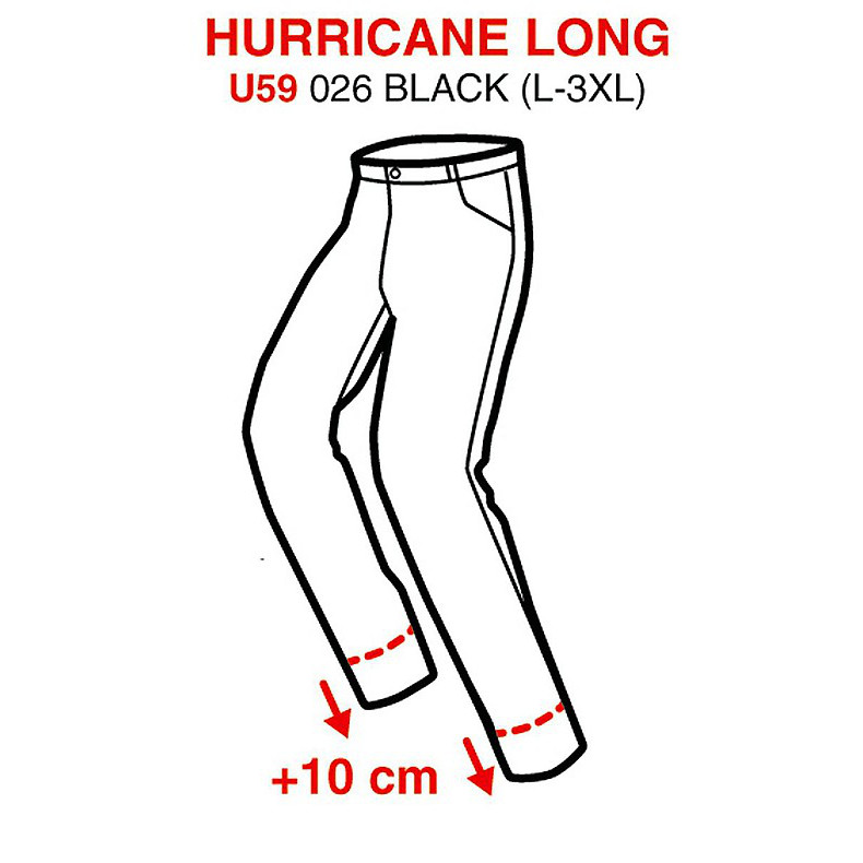 Hose Hurricane Long H2Out Spidi