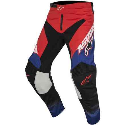 Hose Youth Racer Supermatic rot blau weiss Alpinestars