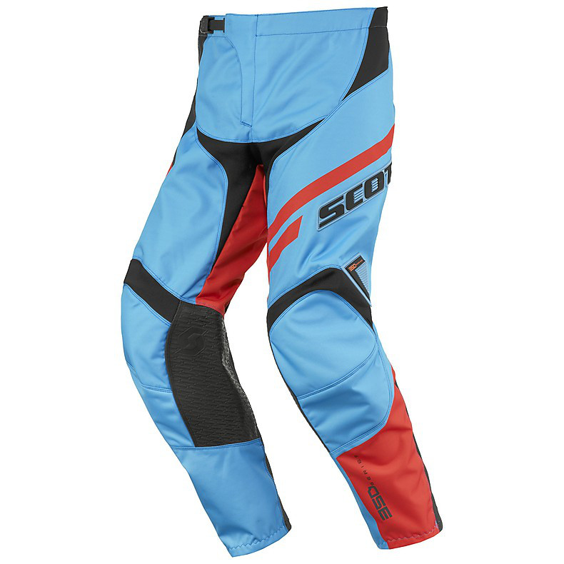 Hosen 350 Track Junior blau-orange Scott
