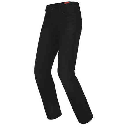 Hosen denim  J-Tracker Schwarz Spidi