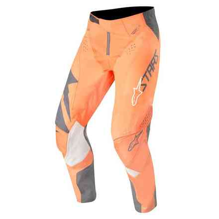 Hosen Techstar Factory anthracyte orange fluo Alpinestars