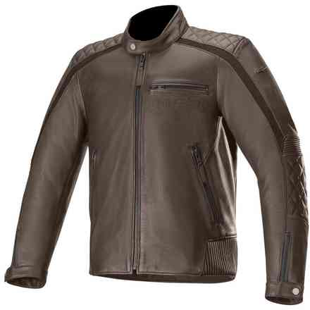 Hoxton V2 jacket brown Alpinestars