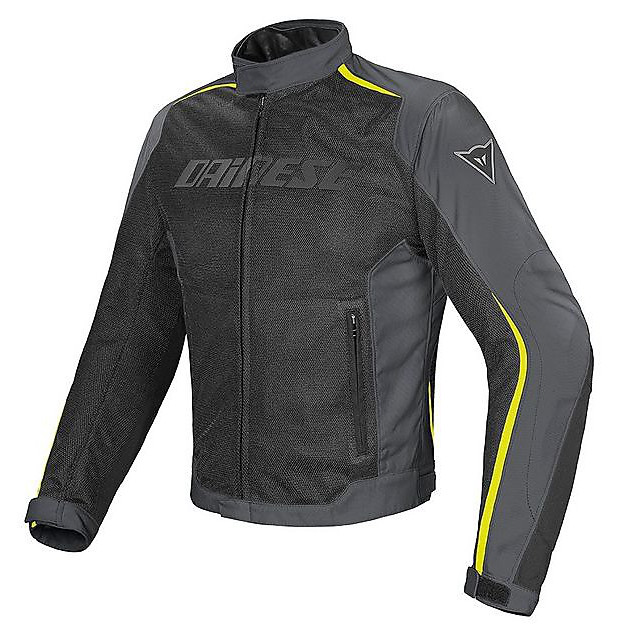 Hydra Flux D-Dry Jacket black-gray-yellow Dainese