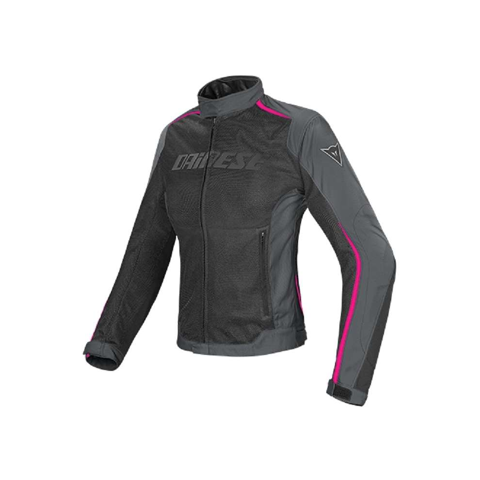 Hydra Flux Lady D-Dry Jacket Black-Ebony-Fuchsia Dainese