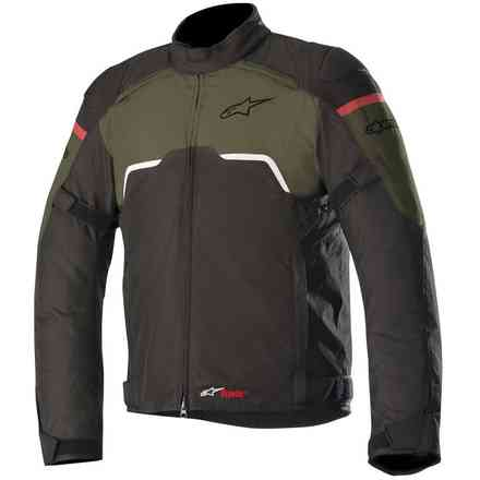 Hyper Drystar jacket black military green Alpinestars