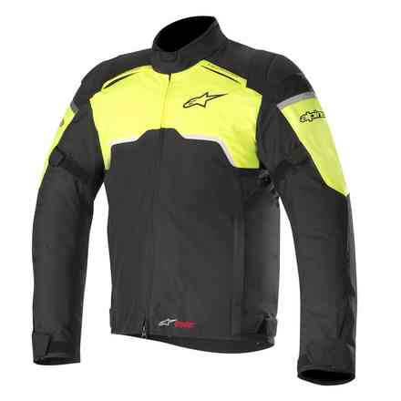 Hyper Drystar jacket black yellow fluo Alpinestars