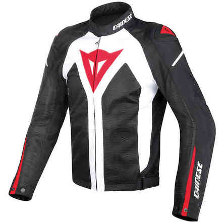 Hyper Flux D-Dry jacket white black red Dainese