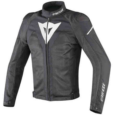 Hyper Flux jacket D-Dry black white Dainese