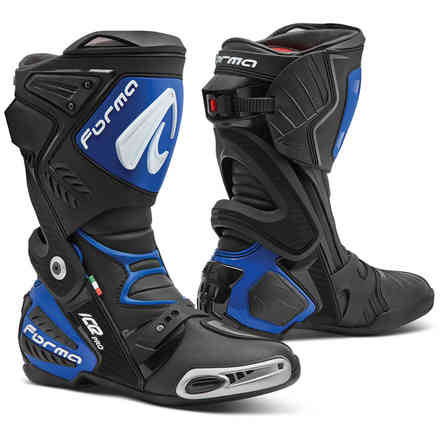 Ice Pro boots black blu Forma