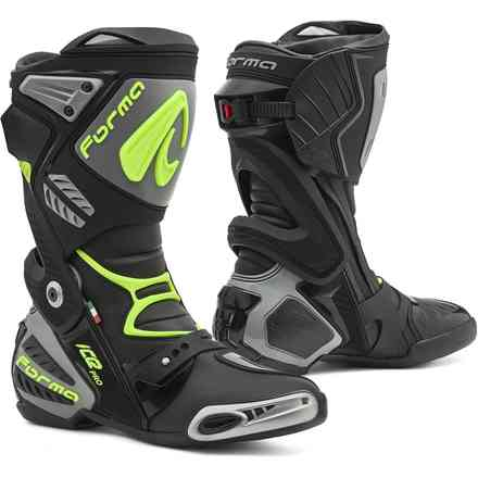 Ice Pro boots black grey yellow fluo Forma