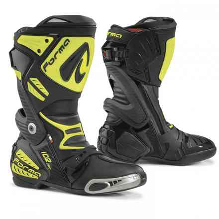 Ice Pro boots black yellow fluo Forma