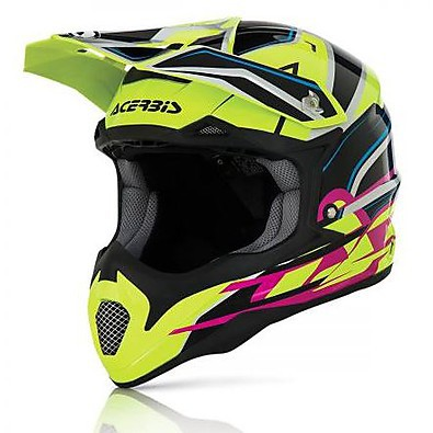 Impact 2016 black-yellow Helmet  Acerbis