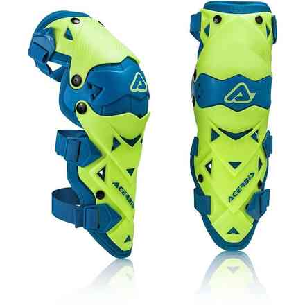 Impact Evo 3.0 protector knee off-road yellow Blue Acerbis