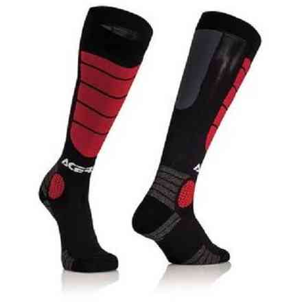 Impact Kid Black / Red Acerbis