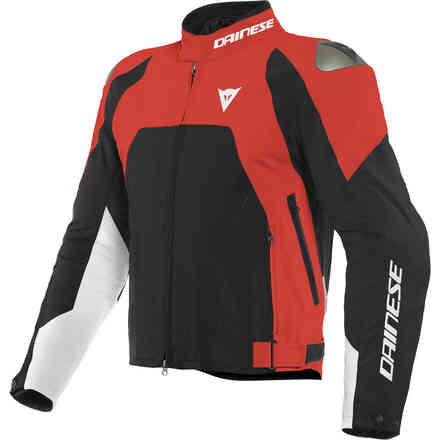 Indomita D-Dry Xt jacket Lava Red black matt white Dainese