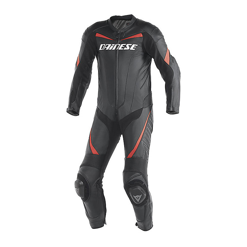INSTRUCTION D'ÉTÉ SUIT RACING NEON NOIR-ROUGE Dainese