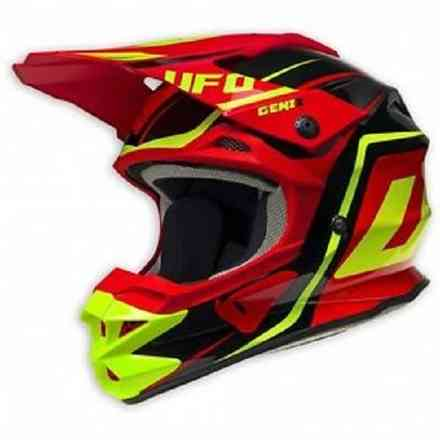 Interceptor 2 Helm Genix Red Ufo