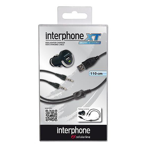 INTERPHONE CARICABATTERIA 12 V INTERPHONE XT Cellular line