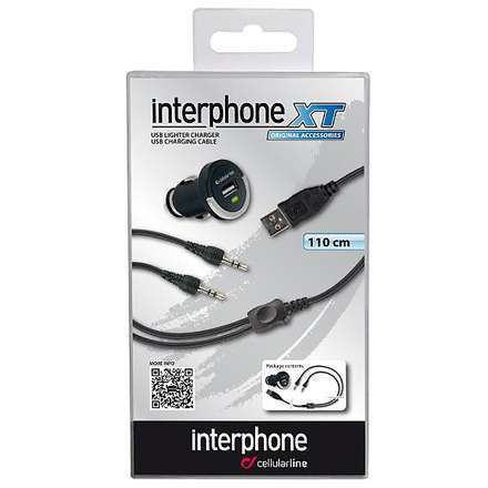 INTERPHONE CHARGER 12 V INTERPHONE XT Cellular line