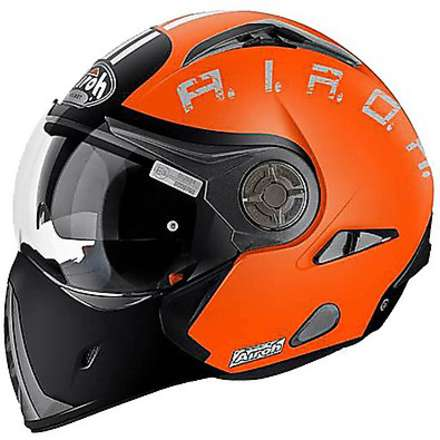J-106 Smoke Helmet orange Airoh