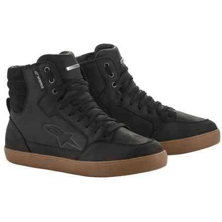 J-6 Waterproof shoes black gum Alpinestars