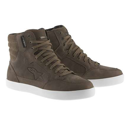 J-6 waterproof shoes brown Alpinestars