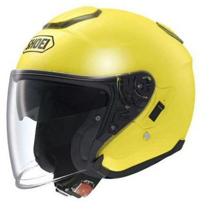 J-Cruise  Brilliant Yellow Helmet Shoei