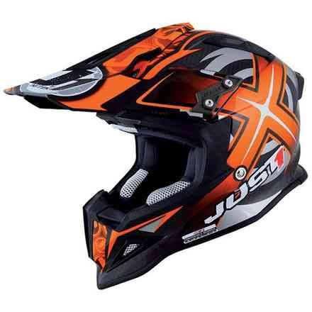 J12 Mister X Carbon Orange Helm Just1
