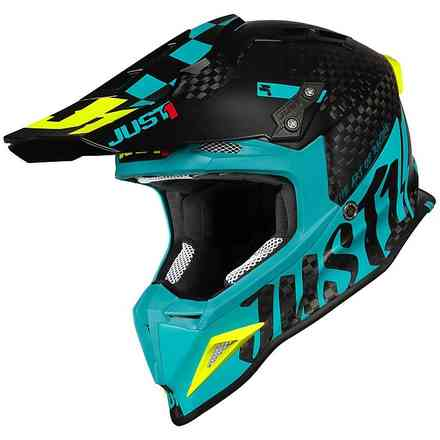 J12 Pro Racer Blue Helm Just1