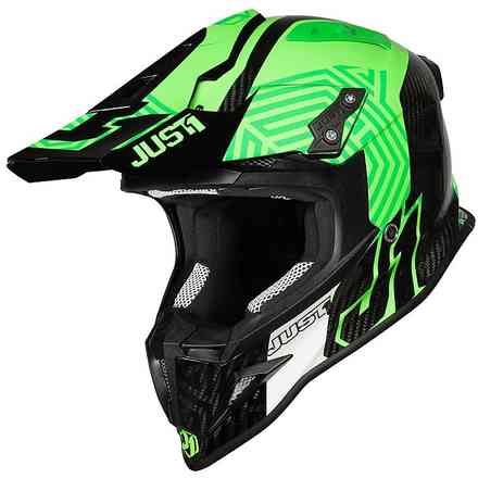 J12 Syncro Fluo Carbon Green Helm Just1